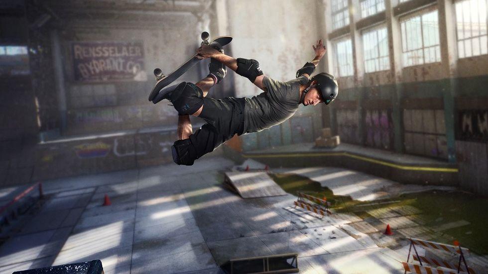 Tony Hawk's Pro Skater 1+2 remake