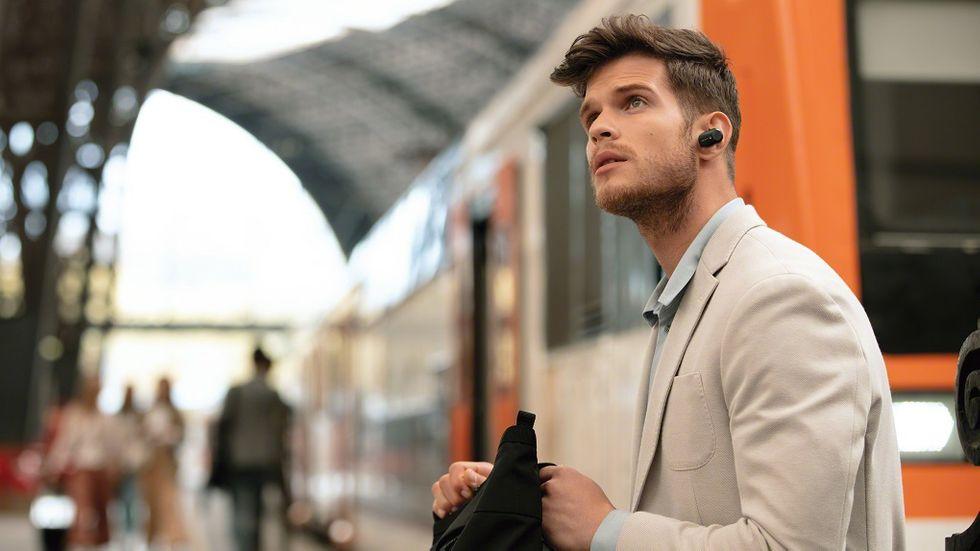 Trådlösa hörlurar med brusreducering