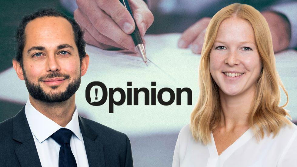 Marie Amann  Erik Mossberg förändringsledningsexperter på PA Consulting