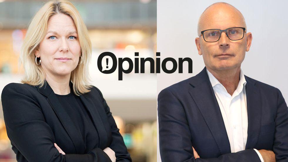 Åsa Zetterberg, förbundsdirektör, IT&Telekomföretagen Hans Werner, vd, Radar Ecosystem Specialists