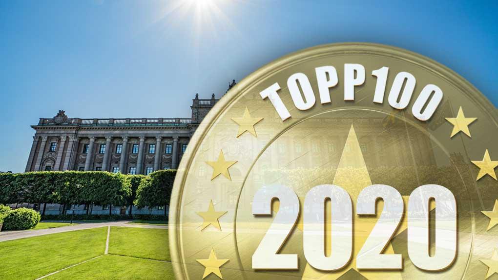 Topp 100 2020: Här är årets 5 bästa myndigheter på nätet