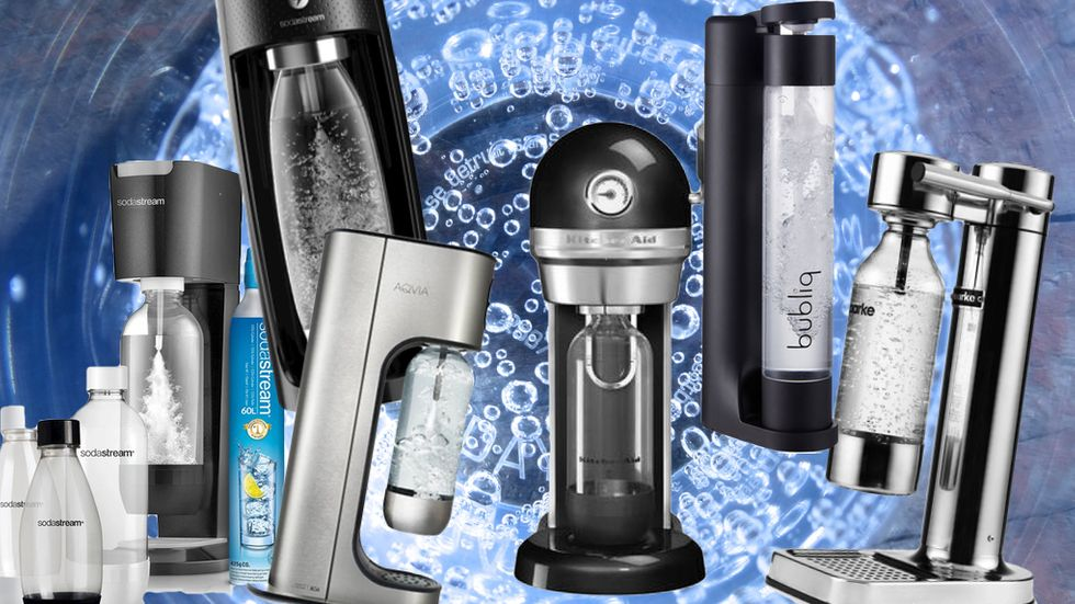 6 maskiner för dig som vill göra ditt eget bubbelvatten