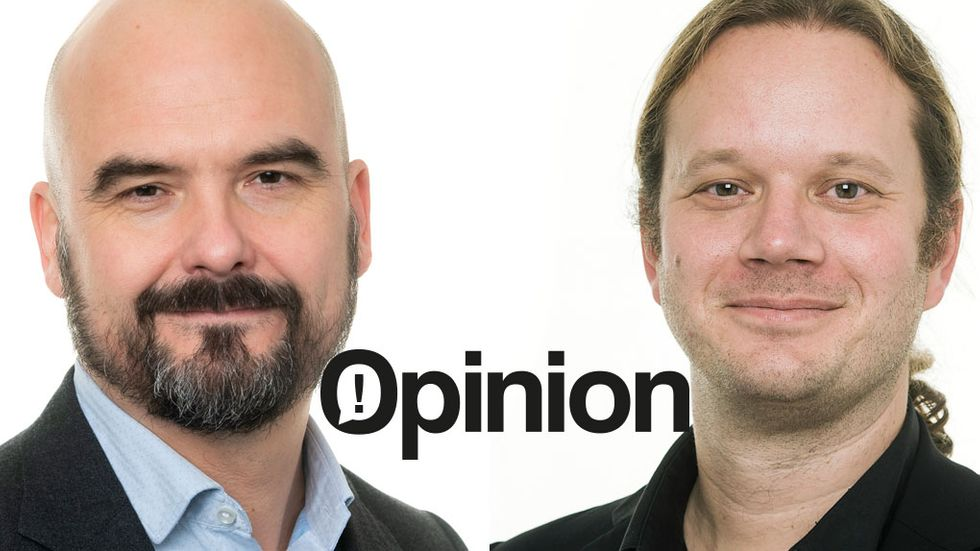 Peter Daniel och Anders Persson, PA Consulting