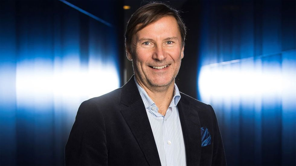 Skanskas cio Per Boström