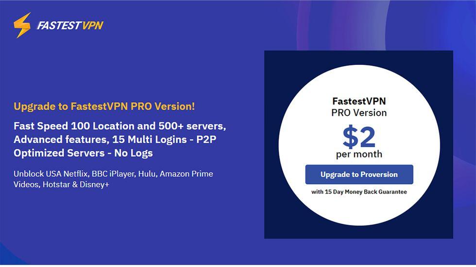 Fastest vpn Pro