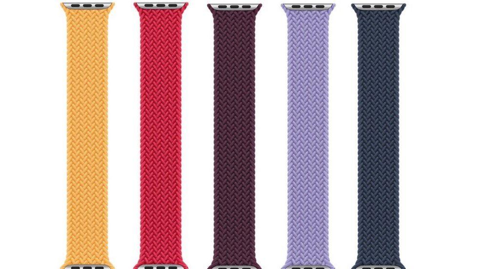 Nya armband för Apple Watch