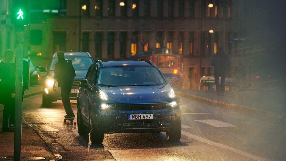 Göteborg är en av tre europeiska städer som är först ut med att testa Lynk & Cos nya bildelningstjänst med bilen 01 Suv.