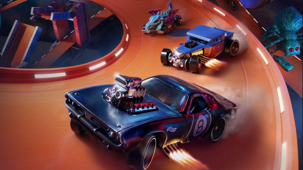 Hot Wheels leksaksbilar och arkadracing i toppklass