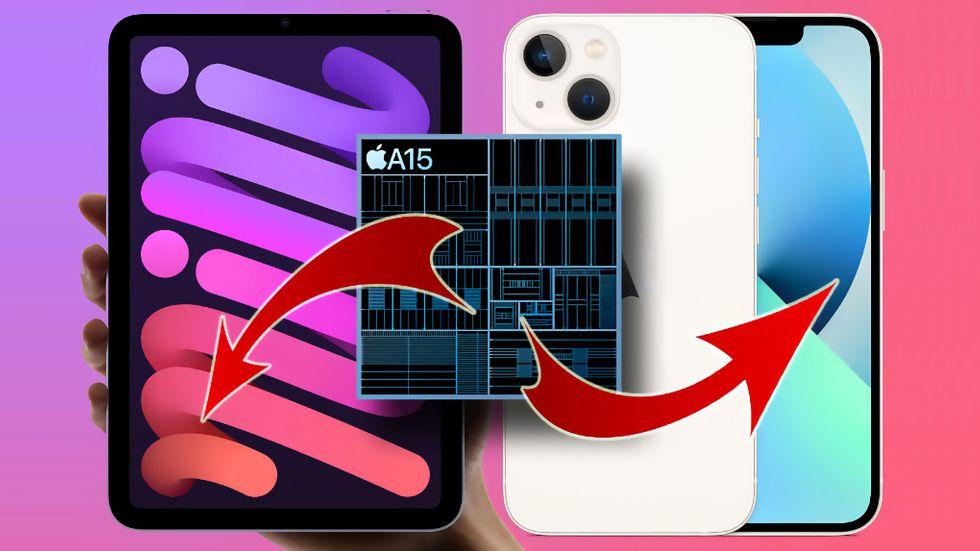 Iphone 13 och Ipad Mini prestanda