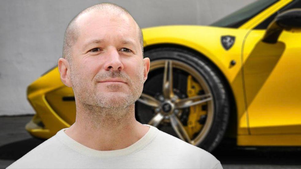 Jony Ive och en Ferrari