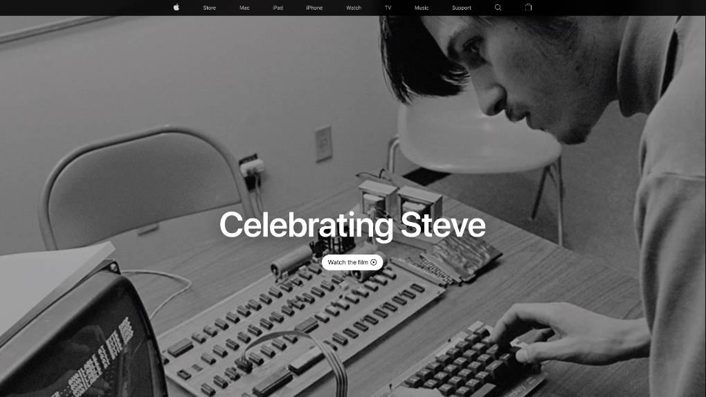 Apples hyllningsvideo till Steve Jobs