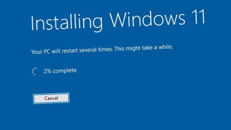 Installation av Windows 11