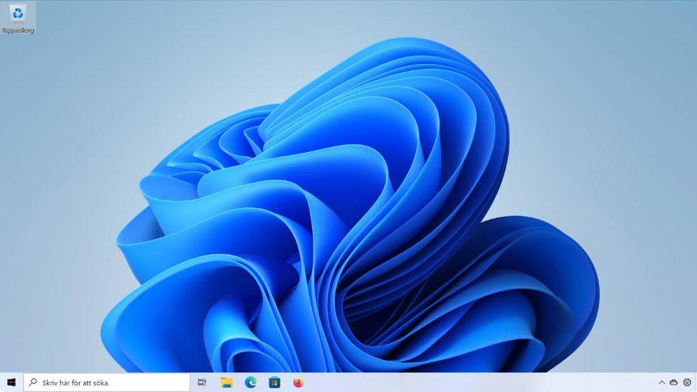 Windows 11 med Windows 10:s Aktivitetsfält