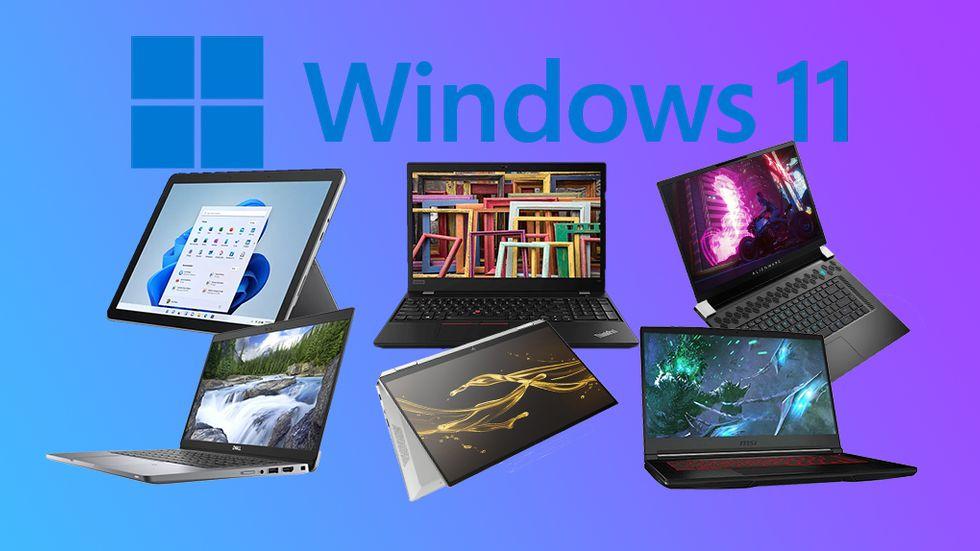 Laptops med Windows 11