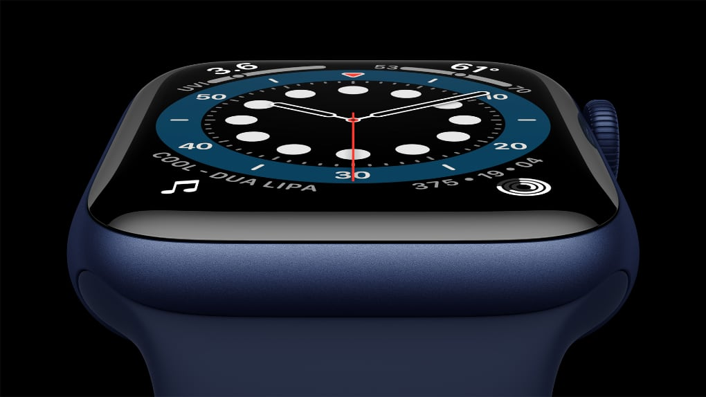 Apple Watch Series 6 slutar säljas