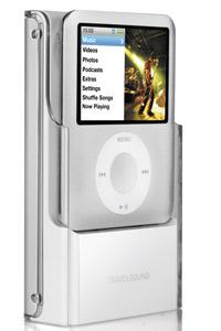 Högtalaren innehåller en smart dockningsstation så att din Ipod kan laddas samtidigt som du lyssnar på musik.