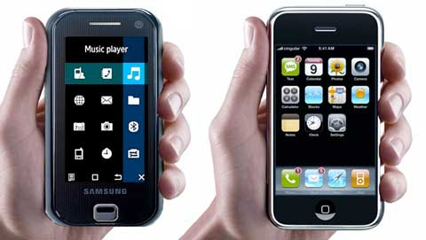 samsung f700 iphone