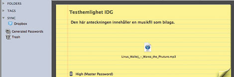 Element i 1Password