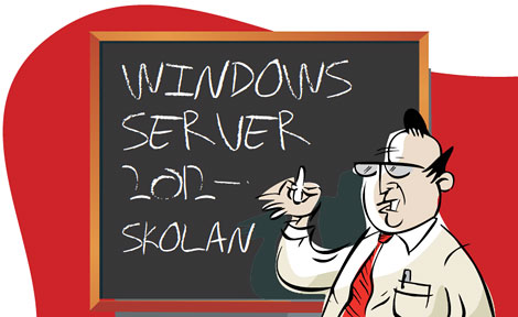 windows server 2012-skolan