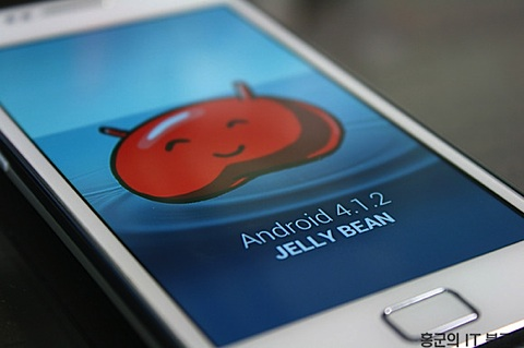 Android 4.1 Jelly Bean för Galaxy S2