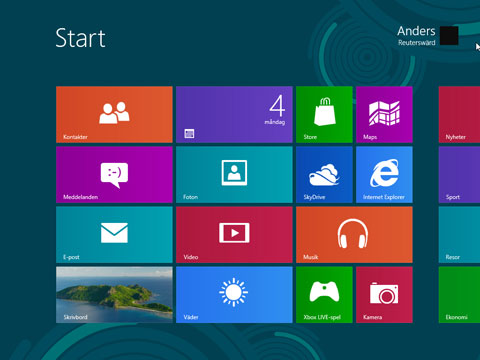 Windows 8 program