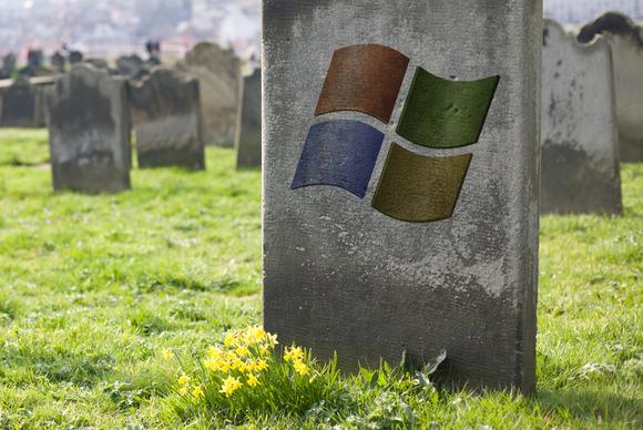 xp läggs i graven