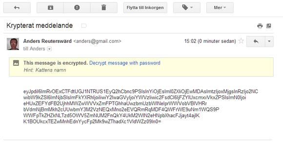 kryptering mejl e-mail