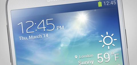 Telefonerna Galaxy S4 (bilden) och Note 3 är två av Samsungs trumfkort.