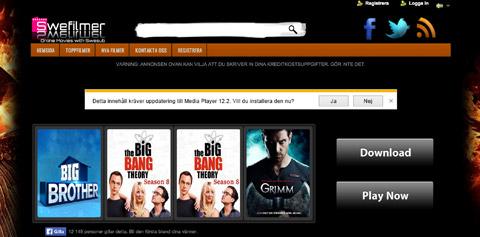 Swefilmer är en av sajterna som riskerar att blockeras.