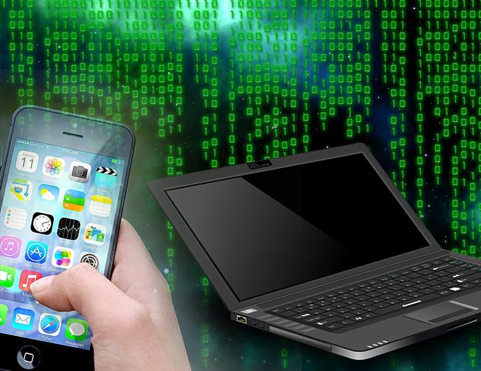 Dator och mobil