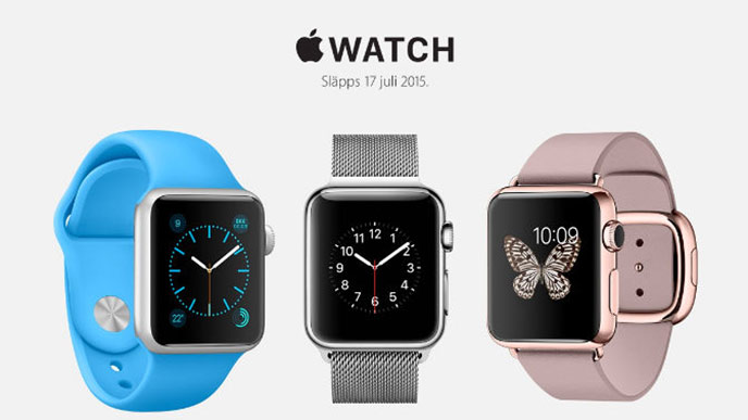 Sk�rmdump fr�n Apple.com/se med Apple watch