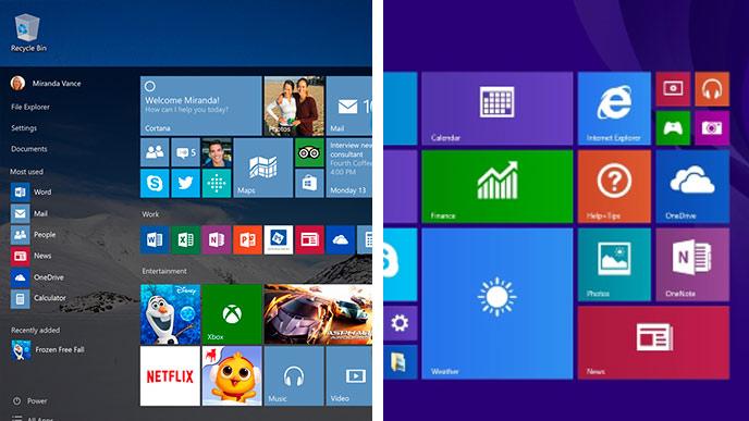 Windows versus