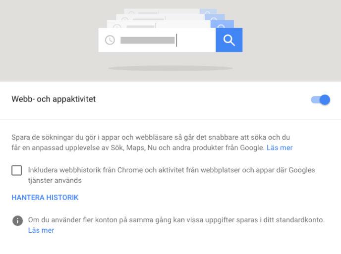 stoppa google annonser